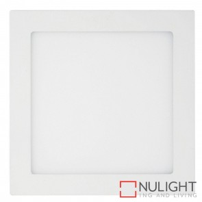 White Square Recessed Panel Light 18W 240V Led Warm White HAV