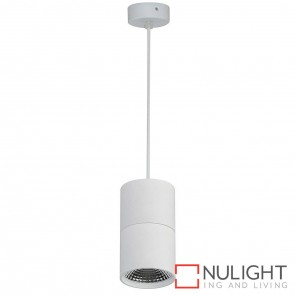White Surface Mounted Round Pendant 7W 240V Led Cool White HAV