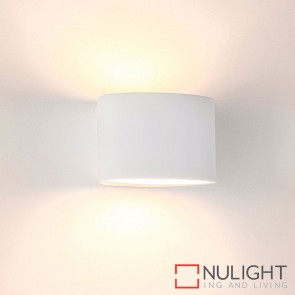 Arc Small Plaster Surface Mounted Wall Light 2W G9 Led Cool White HAV