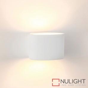 Arc Large Plaster Surface Mounted Wall Light 3W E14 Led Warm White HAV