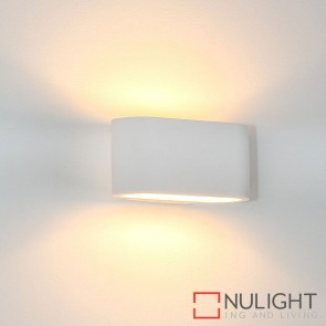 Concept Plaster Surface Mounted Wall Light 2W G9 Led Cool White HAV
