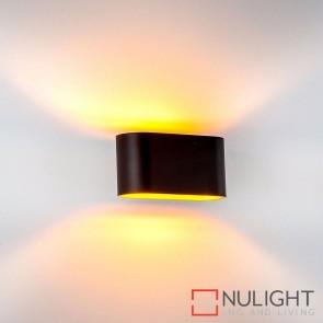 Concept Black Aluminium Surface Mounted Wall Light 2W G9 Led Warm White HAV