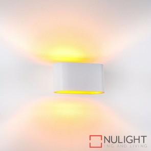 Concept White Aluminium Surface Mounted Wall Light 2W G9 Led Warm White HAV