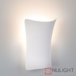 Aurora Plaster Surface Mounted Wall Light 3W E14 Led Cool White HAV
