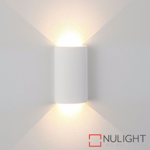 Gallery Round Plaster Surface Mounted Wall Light 2 X 3W 240V Led Cool White HAV