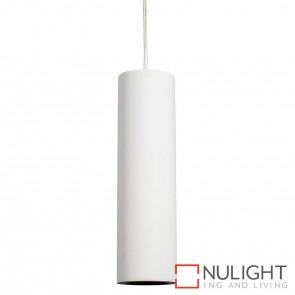 Gesso Round Surface Mounted Plaster Single Pendant 5W Gu10 Led Warm White HAV