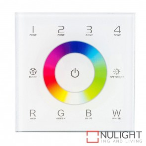 Rgbc/W  4 Zone 2.4Ghz Led Strip Touch Panel Controller 240V HAV