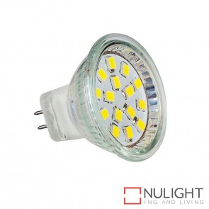 2W Smd 12V Dc Mr11 Led Globe Warm White 3000K HAV