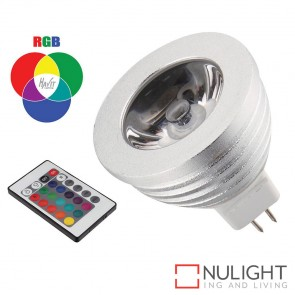 5W Rgb 12V Dc Mr16 Led Globe With Remote HAV