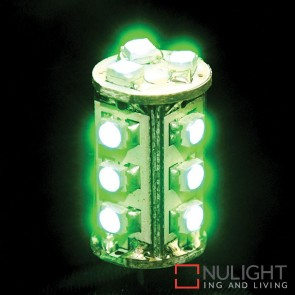 1.4W 12V Dc G4 Led Bi-Pin Green HAV