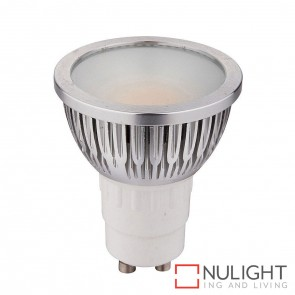 5W Cob 240V Gu10 Led Globe Cool White 6000K HAV