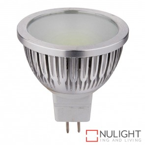5W Cob 12V Dc Mr16 Led Globe Warm White 3000K HAV