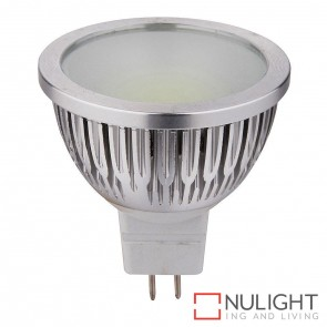 5W Cob 12V Dc Mr16 Led Globe Cool White 6000K HAV