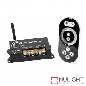 Single Colour 2.4Ghz 4 Zone Led Strip Remote Controller + Receiver HAV