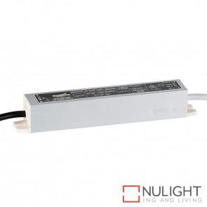 20W 12V Dc Ip66 Weatherproof Led Driver With Flex & Plug HAV