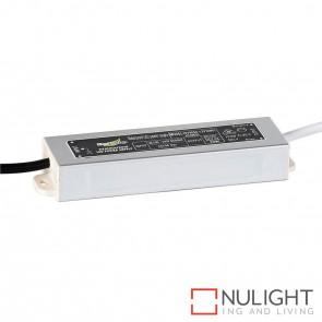 30W 24V Dc Ip66 Weatherproof Led Driver  With Flex & Plug HAV