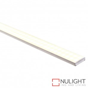 45Mm X 11Mm Shallow Square Aluminium Profile With Opal Diffuser - Kit - Per Metre HAV