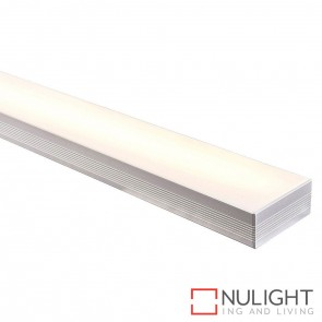 80Mm X 35Mm Large Deep Square Aluminium Profile With Opal Diffuser - Kit - Per Metre HAV