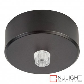 70Mm Surface Mounted Round Canopy Black HAV