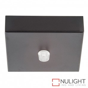 90Mm Surface Mounted Square Canopy Black HAV