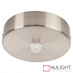 90Mm Surface Mounted Round Canopy Satin Chrome HAV