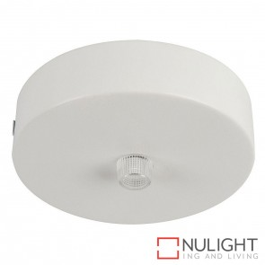 90Mm Surface Mounted Round Canopy White HAV