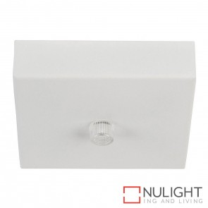 90Mm Surface Mounted Square Canopy White HAV