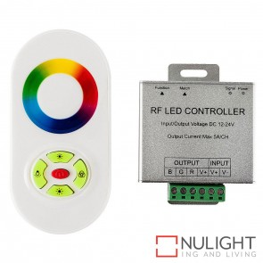 Rgb 2.4Ghz Led Strip Remote Controller + Receiver 12-24V HAV