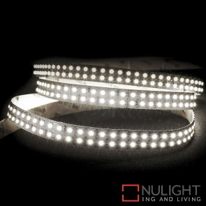 24V Dc 19.2W Per Metre Ip20 Double Row Led Strip Cool White 4000K HAV