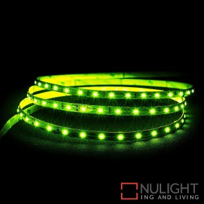 12V Dc 4.8W Per Metre Ip20 Led Strip Green HAV