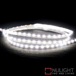12V Dc 7.7W Per Metre Ip20 Side Mounted Led Strip Cool White 4000K HAV