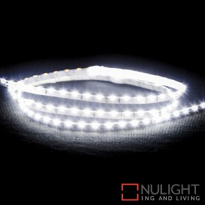 12V Dc 7.7W Per Metre Ip20 Side Mounted Led Strip Natural White 5500K HAV