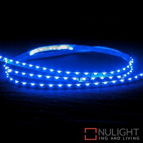 12V Dc 7.7W Per Metre Ip20 Side Mounted Led Strip Blue HAV