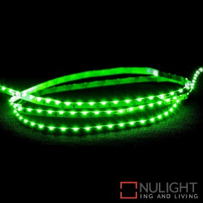 12V Dc 7.7W Per Metre Ip20 Side Mounted Led Strip Green HAV