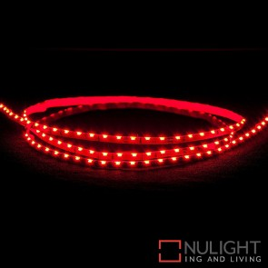 12V Dc 7.7W Per Metre Ip20 Side Mounted Led Strip Red HAV