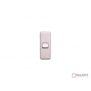 Architrave 1 Gang Switch - White VBL