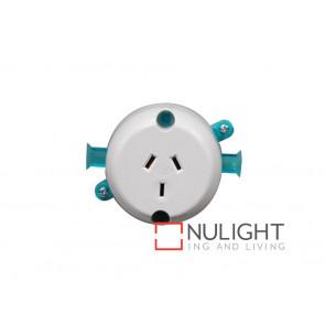 Single Surface Socket - White VBL