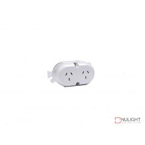 Double Surface Socket - White VBL
