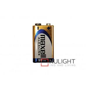 Maxwell 9V Alkaline Batteries VBL