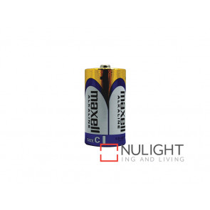 Maxwell C Alkaline Batteries VBL