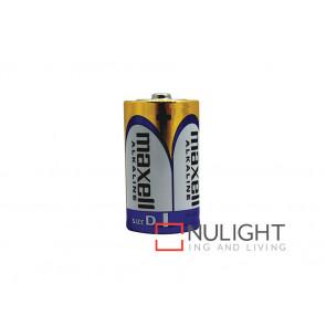 Maxwell D Alkaline Batteries VBL