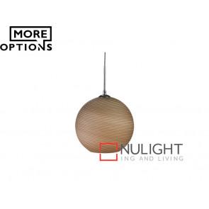 Vibe Moss Textured Glass Pendant Lights VBL