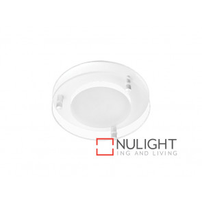 Vibe Round White Dropped Glass Face Option VBL