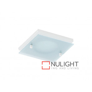 Vibe Square White Dropped Glass Face Option VBL