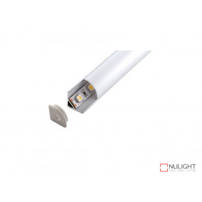 Vibe ALP006 Alum Profile With PMMA Opal Diffuser 2M PC 16mm Triangular VBL