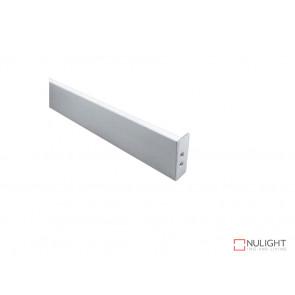 Vibe ALP050 Aluminium Profile With PC Opal Diffuser 1M Polycarbonate 17.7x32mm VBL