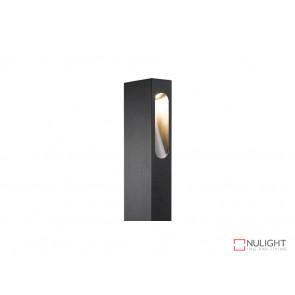 Vibe Calais 650 6W Cool White Black LED Bollard Light VBL