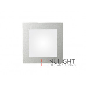 Vibe LED Recessed Wall Light 5K Silver Trim VBL