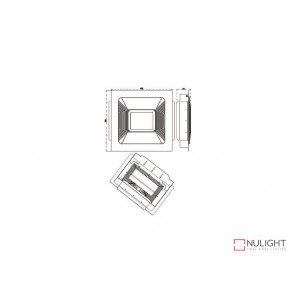 600x600 Recessed Kit To Suite The VBLLB-420 Series Canopy Lights VBL