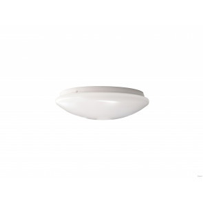 16W Natural White LED Ceiling Oyster Lamp 290mm With Microwave Sensor VBL